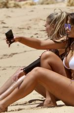 Chloe Ferry & Bethan Kershaw In the blazing heat In their sexy skimpy bikinis out on their holiday break in Albufeira