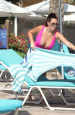 Chloe Goodman Shows off her recent weight loss whilst on holiday in Gibraltar