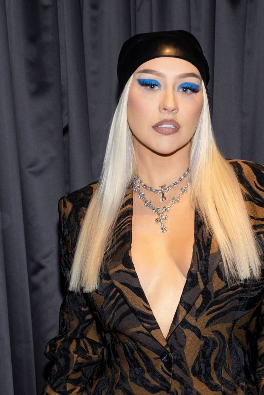 Christina Aguilera Attends the Unstoppable Weekend grand opening celebration in Las Vegas