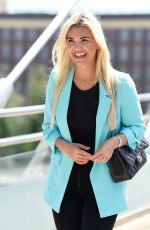 Christine McGuinness Out and about in Liverpool
