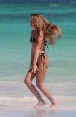 Clara Berry Continuous her birthday celebrations in Tulum in Mexico