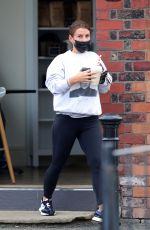 Coleen Rooney Keeps it casual as she stops off for coffee and a shake in Wilmslow Cheshire