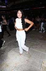 Daisy Marquez Makes an appearance at the TikTok vs YouTube boxing match at the Hard Rock Stadium in Miami Gardens