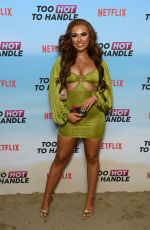 Demi Jones At Too Hot to Handle TV Show Photocall in London