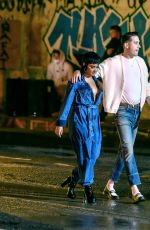 Demi Lovato & Rapper G-Eazy Get Close on set of their Music Video in Los Angeles