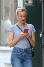 Diane Kruger Out and about in New York