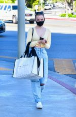 Dove Cameron Shops at Alice and Olivia in West Hollywood