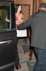 Dua Lipa Out for dinner at Craig's in West Hollywood