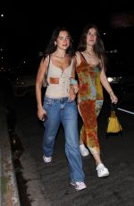 Dua Lipa Pictured arriving at The Nice Guy in West Hollywood