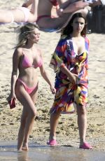 Elettra Lamborghini & Ludovica Pagani Enjoy some relaxing time at the beach during their summer break in Greece