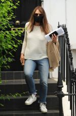 Elizabeth Hurley Out on the go in London