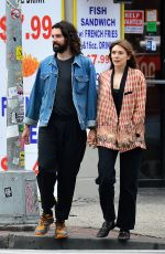 Elizabeth Olsen Out and about in New York