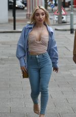 Ella Baig Seen heading for drinks with her model friend Rhiannon Sarah in Waterloo, London for a girls night out