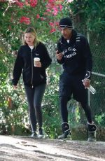 Ellen Pompeo Goes for a hike with her music producer husband Chris Ivery in the hills at Griffith Park in Los Feliz
