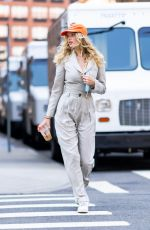 Elsa Hosk Pictured Out on a Stroll in New York City
