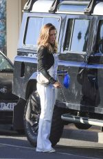 Elsa Pataky Spotted in Byron wearing SPELL Flared overalls as she makes a quick visit to the grocery store