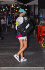 Emily Ratajkowski and Sebastian Bear-McClard are seen unloading their car after a day of traveling while out in Manhattan