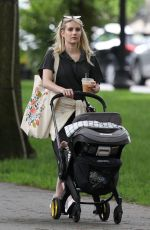 Emma Roberts Out in Boston