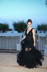 Fabienne Carat Arrives at the after-party of the opening ceremony of the 60th Monte Carlo Film Festival in Monaco
