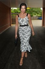 Francesca Allen and Maria Wild seen leaving there Surrey hotel to head to Epsom races Ladies day
