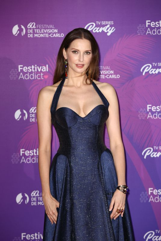 Frederique Bel Attends the TV Series Party during the 60th Monte Carlo Tv Festival in Monaco