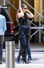 Gigi Hadid Going to a photoshoot in NYC