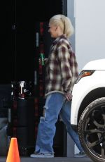Gwen Stefani On the set of a photoshoot