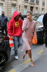 Hailey Baldwin and Justin Bieber on their way to have diner at Stresa