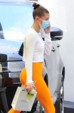 Hailey Bieber At a doctor