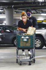 Hilary Duff At Whole Foods in LA