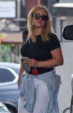 Hilary Duff Pictured sharing her best angles while pumping gas in Studio City