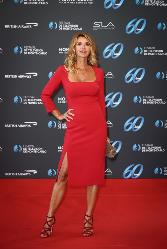 Ingrid Chauvin Attends the 60th Monte Carlo Tv Festival opening Red Carpet at the Grimaldi in Monaco