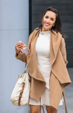Janette Manrara Leaving a tv studio in London after an appearance on the Jeremy Vine show