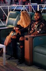 Jena Frumes Spotted attending the Bryce Hall Vs Austin McBroom Fight in Miami