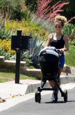 Jena Frumes Spotted for the first time with newborn baby in Los Angeles