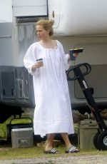 Jennifer Lawrence Filming Red, White and Water in New Orleans