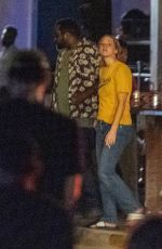 Jennifer Lawrence On the set of Red, White and Water in New Orleans