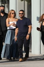 Jennifer Lopez Out shopping with her son Max