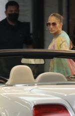 Jennifer Lopez Pictured for the first time since taking her romance with Ben Affleck public during a dinner date in Los Angeles