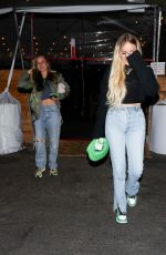 Jennifer Meyer & Maeve Reilly Are in good spirits as they enjoy a girl