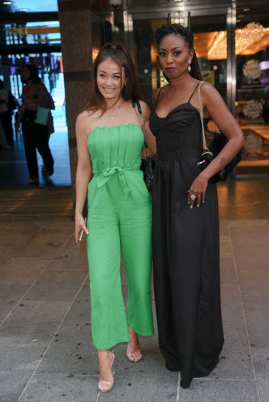 Jess Impiazzi Arrives for Premiere of The Hitman