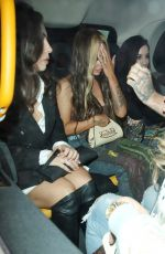 Jesy Nelson Looks a little worse for wear after a night out with friends at MNKY HSE in London
