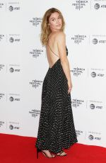 Julia Stiles At 2021 Tribeca Film Festival Premiere of The God Committee at Brooklyn Commons Metrotech in New York