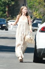Julianne Hough Spotted with an armful of Easter goodies in Los Angeles
