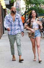 Kacey Musgraves Keeps it casual as she and her beau Cole Shafer step out for dinner in New York