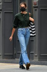 Kaia Gerber Is pictured out and about in New York