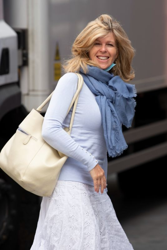 Kate Garraway Pictured arriving at the Global Radio studios for her Smooth Radio show in London