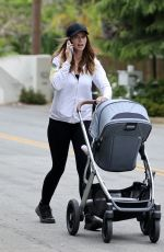 Katherine Schwarzenegger Out for her morning walk with baby Lyla Maria in Santa Monica