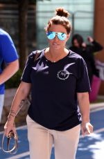 Katie Price Seen arriving at Leeds Dock TV Studios for an appearance on Channel 4