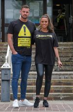 Katie Price Turns upto Hastings magistrates court in Sussex